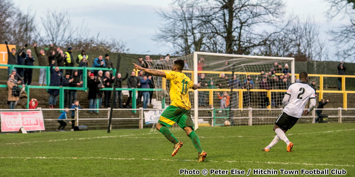 Tremayne (Trey) Charles (photo copyright Peter Else and Hitchin Town Football Club)