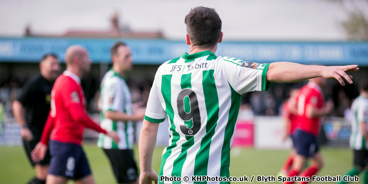 Dan Maguire - Match Action - Blyth Spartans - 2018-2019 (3) (photo copyright KHPhotos.co.uk and Blyth Spartans Football Club)