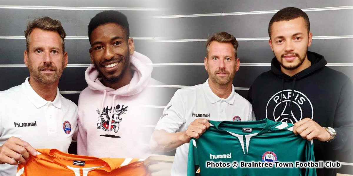 best website d13a2 5285b Trey Charles and Michael Johnson join Braintree Town ...