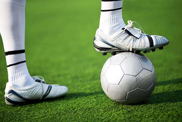 Football Boots and Ball