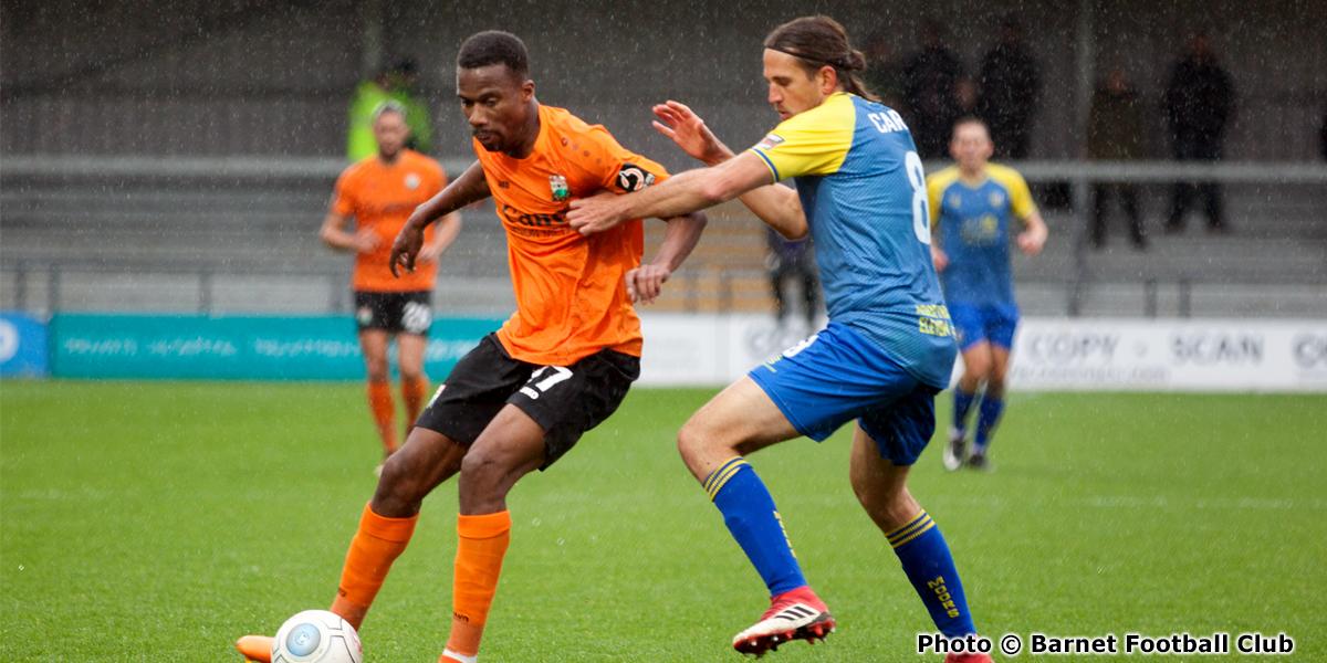 Immanuelson Duku (photo copyright Barnet Football Club)