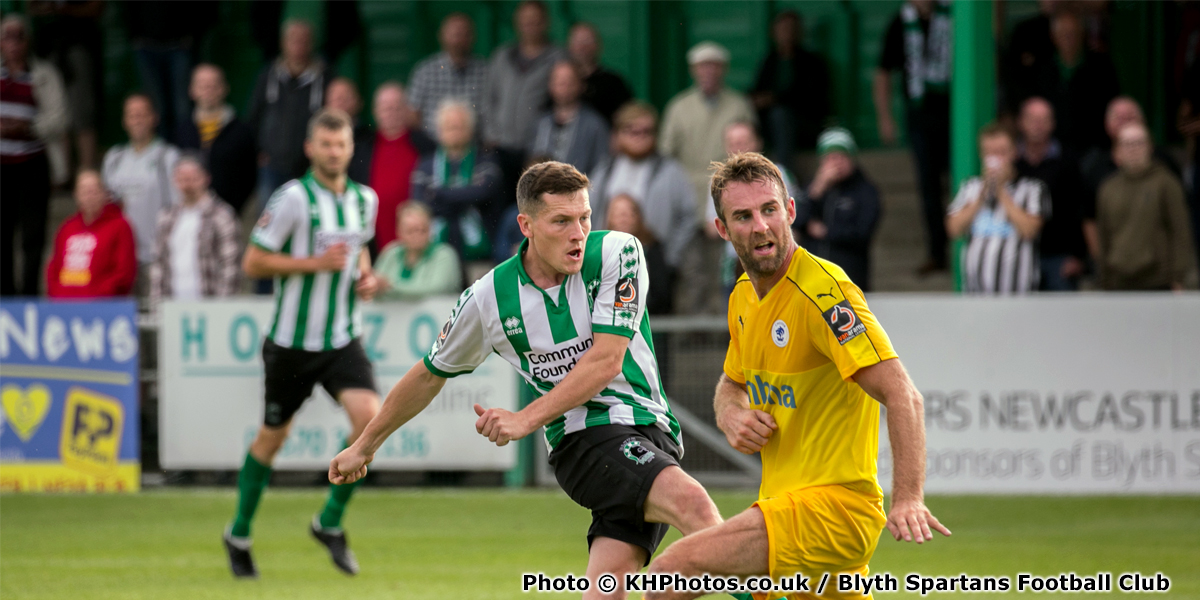 Dan Maguire - Match Action - Blyth Spartans - 2018-2019 (8) (photo copyright KHPhotos.co.uk and Blyth Spartans Football Club)
