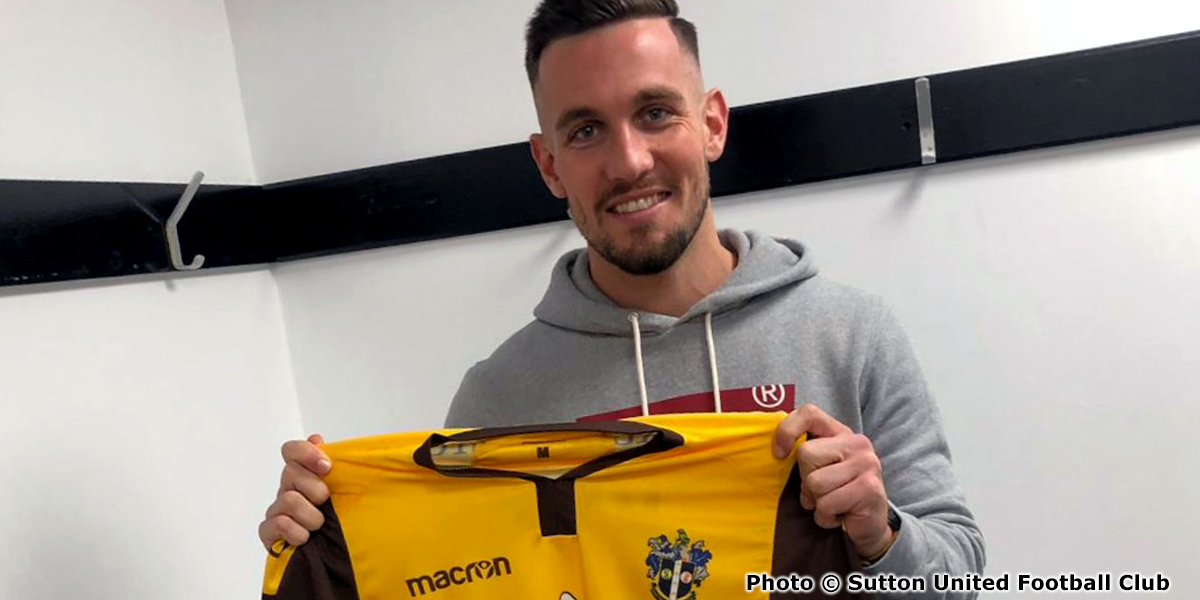 James Dobson - Signs for Sutton United (2018-19) (1) (photo copyright Sutton United Football Club)