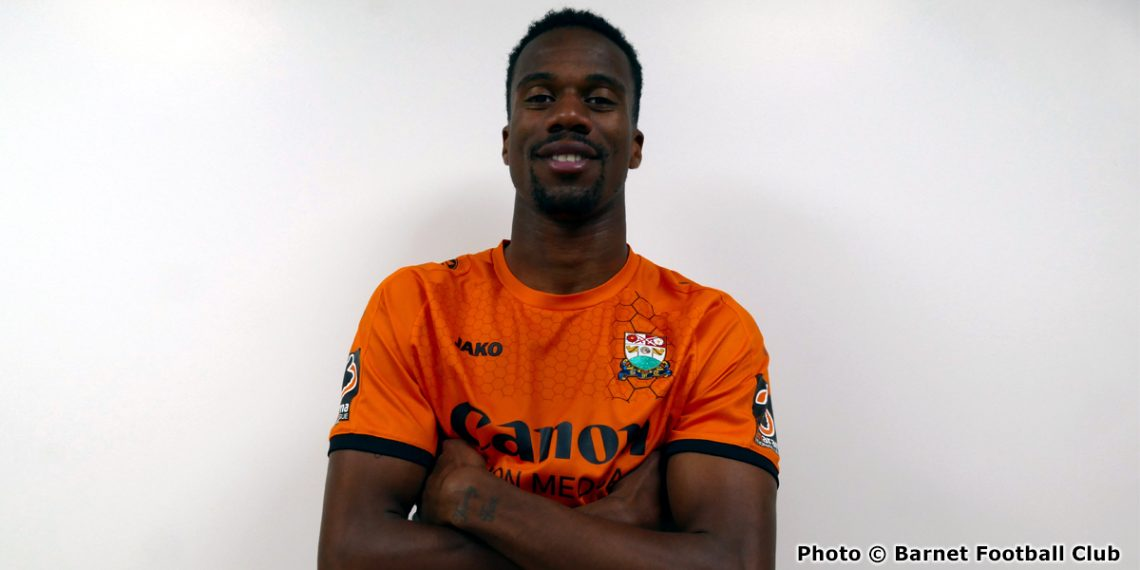 Immanuelson Duku (photo copyright Barnet Football Club)