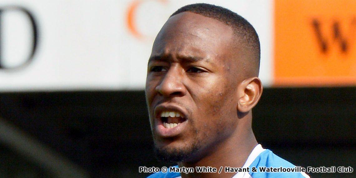 Nicke Kabamba (photo copyright Martyn White and Havant & Waterlooville Football Club)